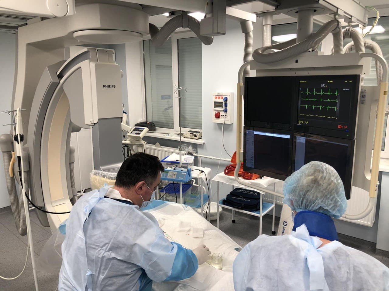 У Черкаському кардіоцентрі провели новітнє оперативне втручання (ВІДЕО)