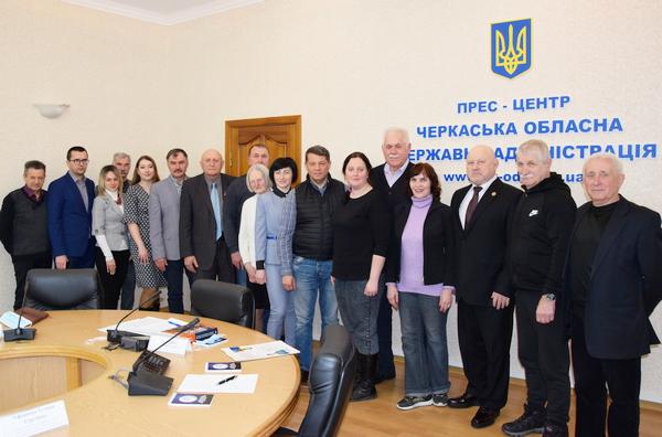 Романа Сущенка обрали головою Асоціації ветеранів спорту Черкаської області