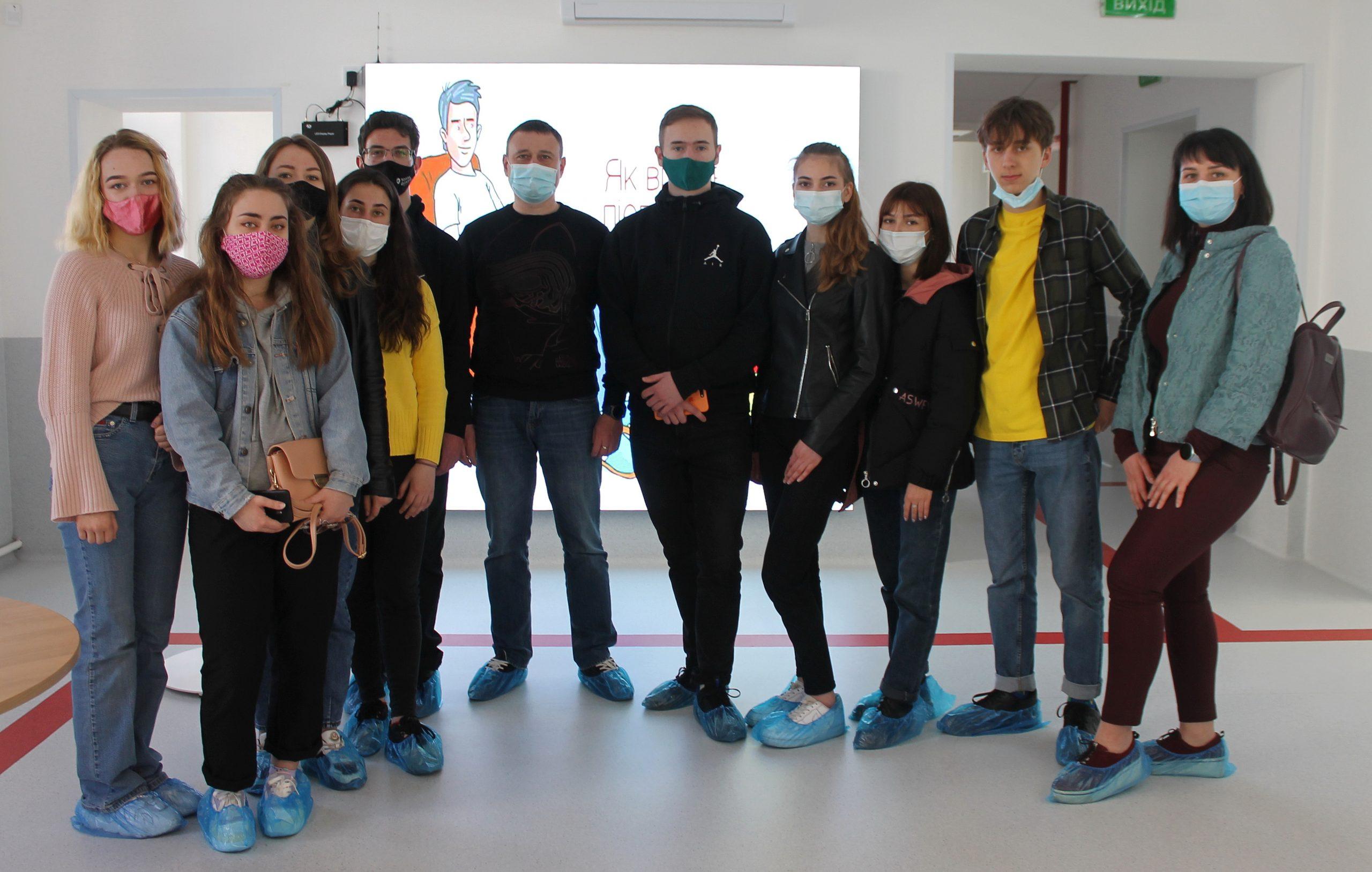 Студенти ЧНУ ознайомилися із роботою «Biopharma Plasma Cherkasy»