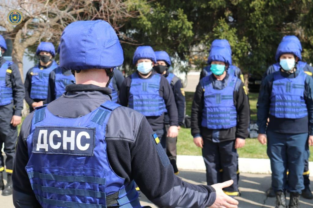 На Донеччині рятувальники Черкащини відновлюватимуть інфраструктуру в зоні ООС