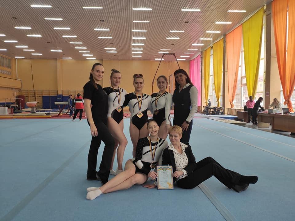 Черкаські гімнастки вибороли нагороди чемпіонату України