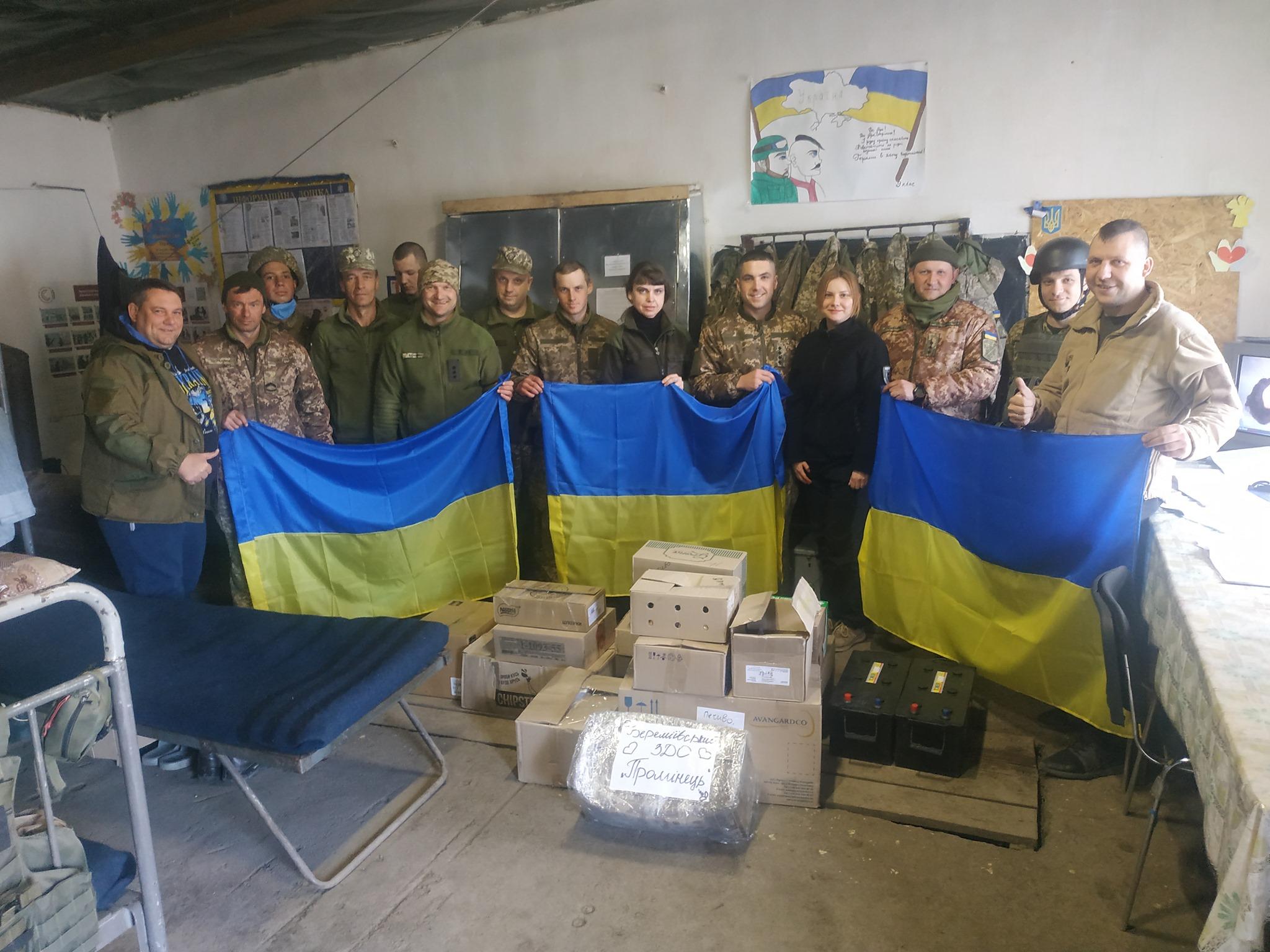 Черкаські волонтери відвезли гуманітарний вантаж у зону проведення ООС