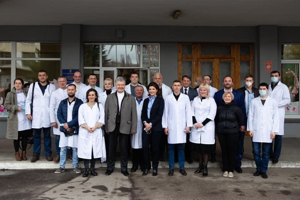 Черкаська міська дитяча лікарня отримала два кисневі концентратори