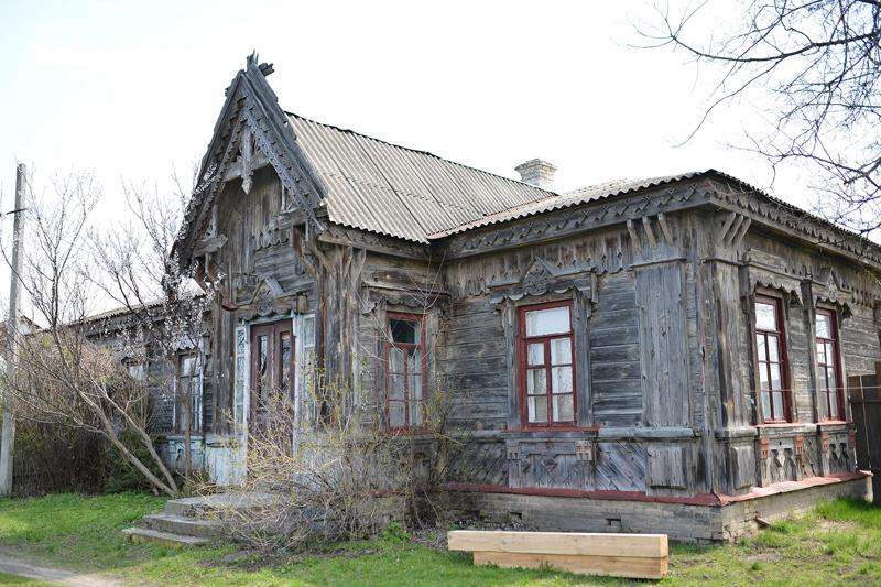 У Мошнах планують реконструювати дерев'яний будинок Городецького
