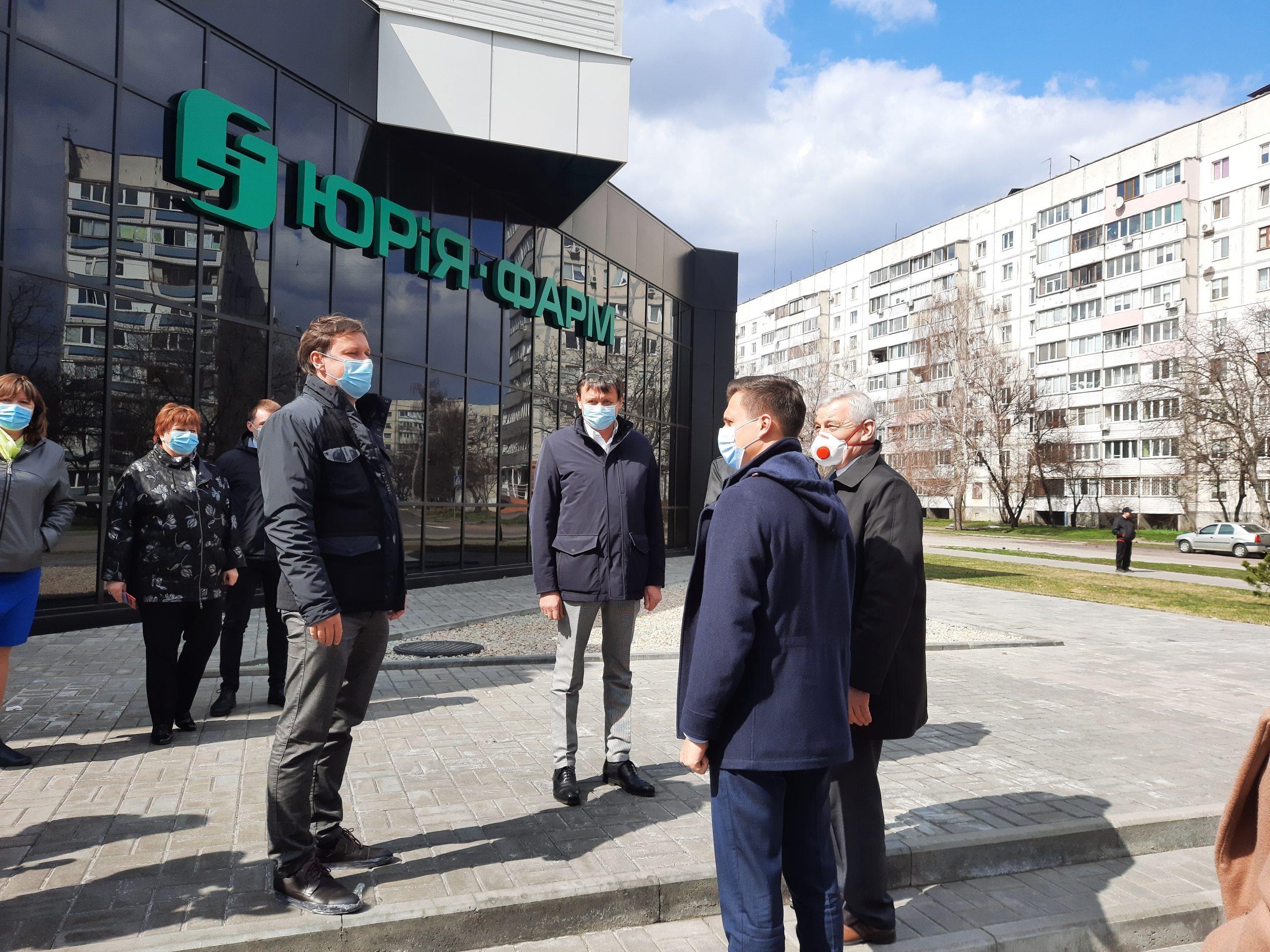 Олександр Скічко відвідав «Юрія-Фарм»