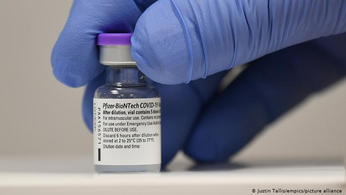 В область доставили вакцину Pfizer