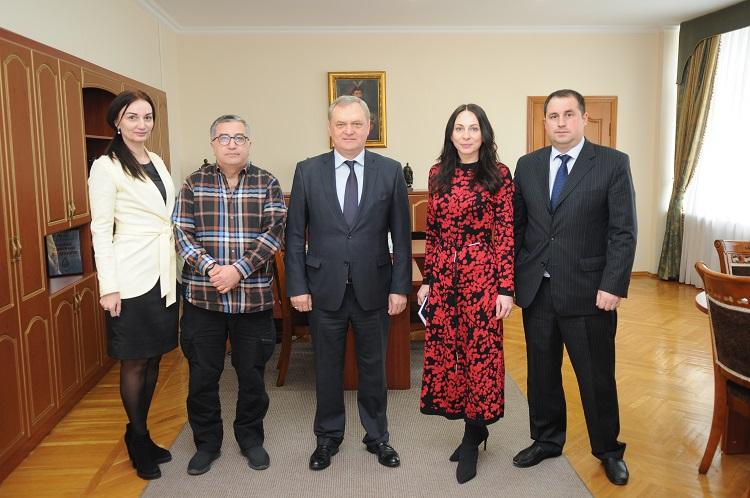 Почесний Генеральний консул Республіки Кот-Д'Івуар в Україні відвідав ЧНУ