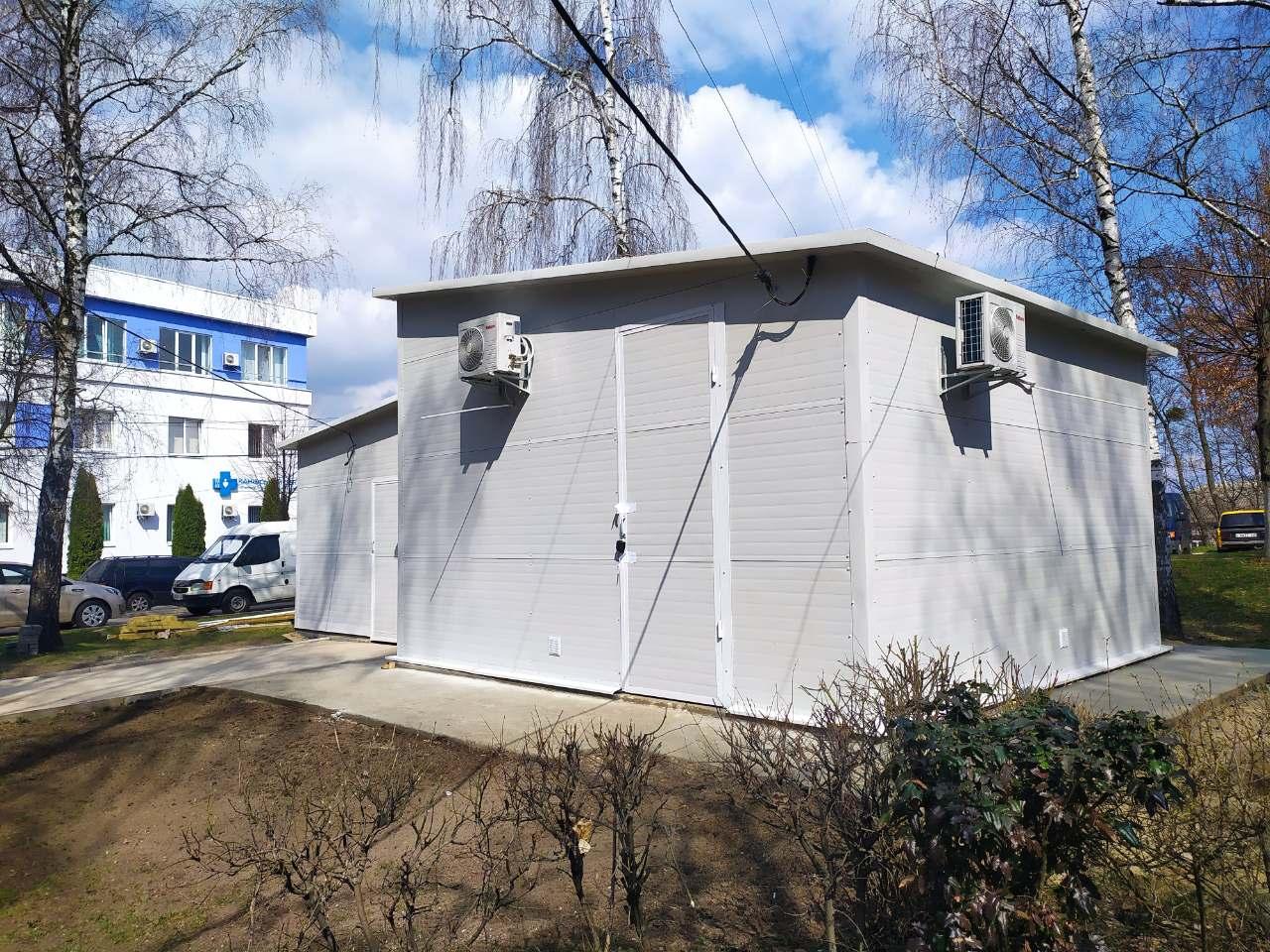 У Канівській багатопрофільній лікарні завершується облаштування кисневої станції