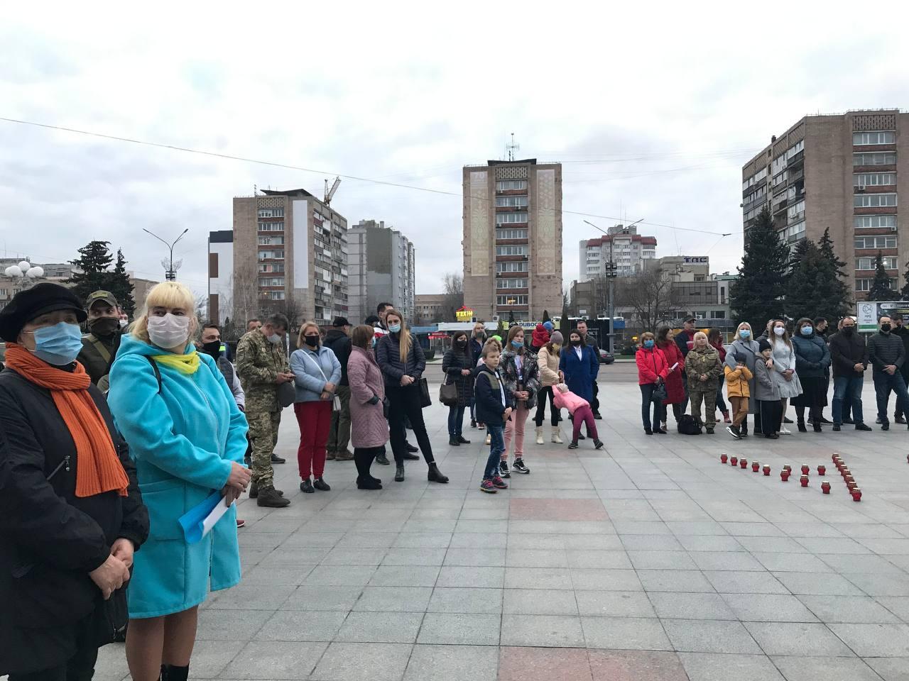 На Віче пам'яті в Черкасах ушанували загиблих українських бійців