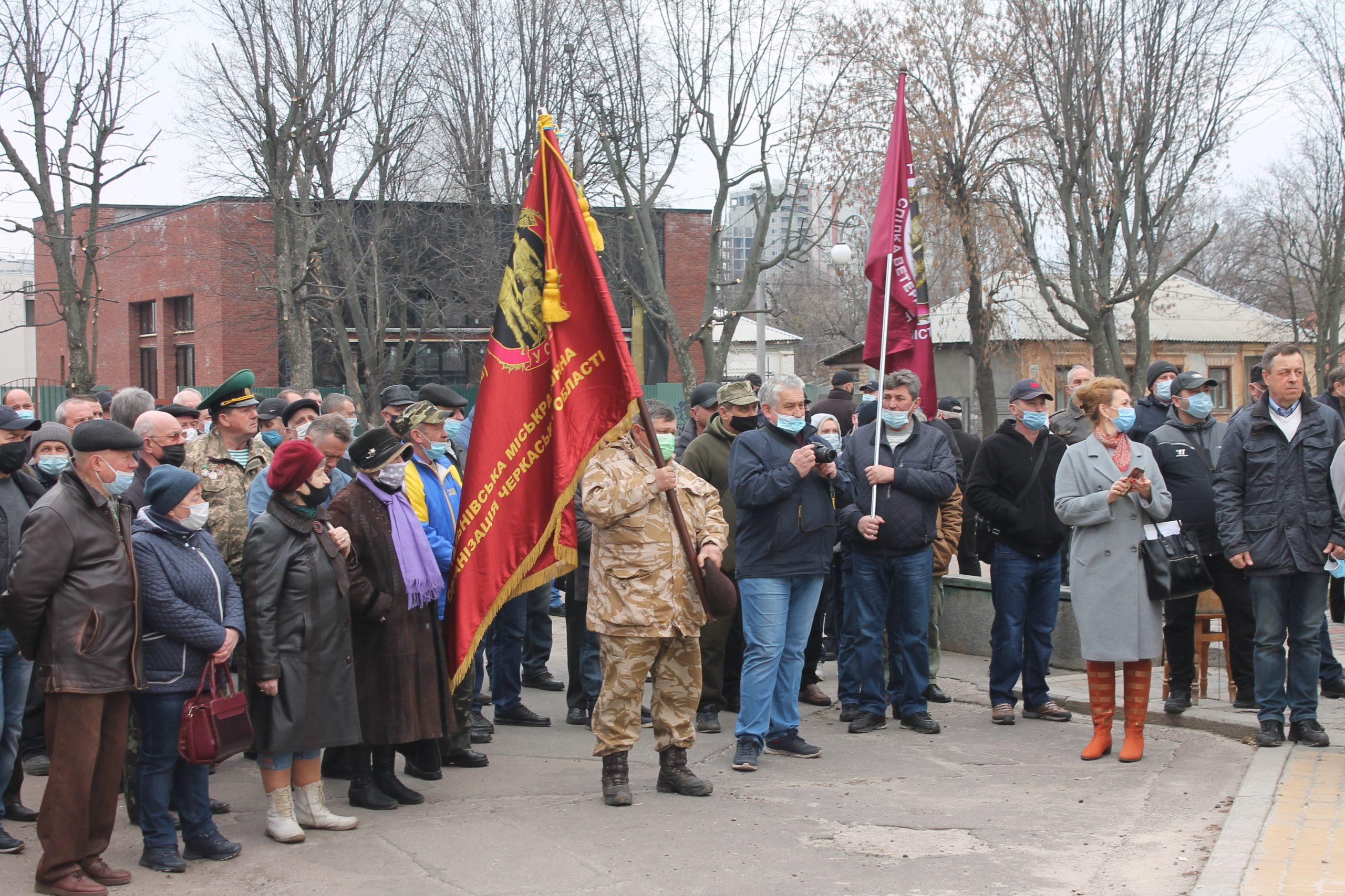 У Черкасах обговорили акт вандалізму над Меморіальним комплексом воїнам-інтернаціоналістам (ФОТО)
