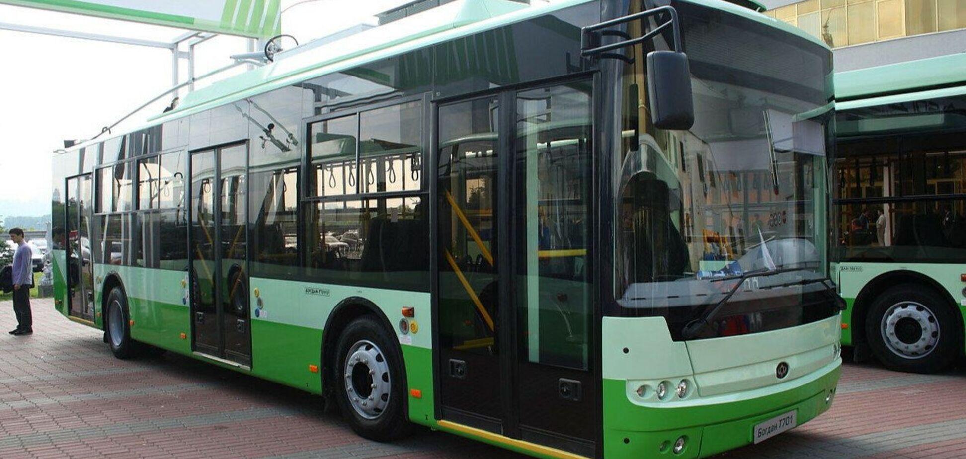 Черкаські тролейбуси «Богдан» виграли тендер у Чехії
