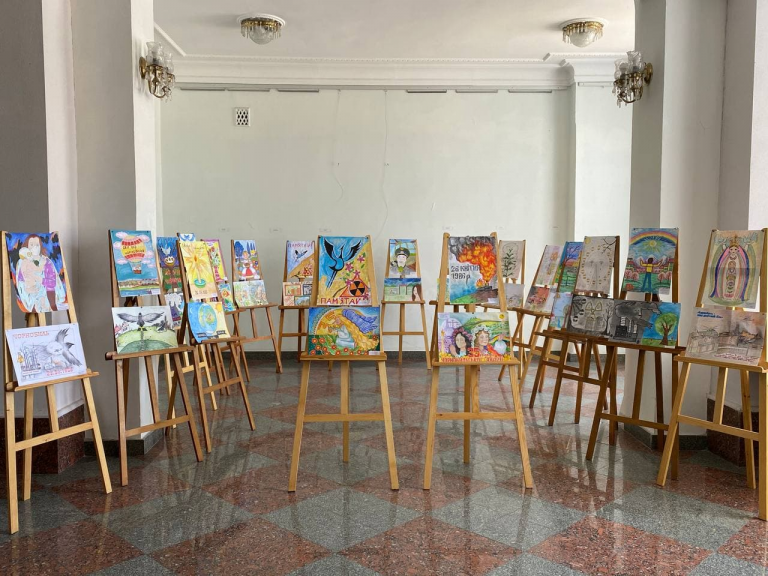 За кордоном презентуватмуть малюнки, що присвячені аварії на ЧАЕС