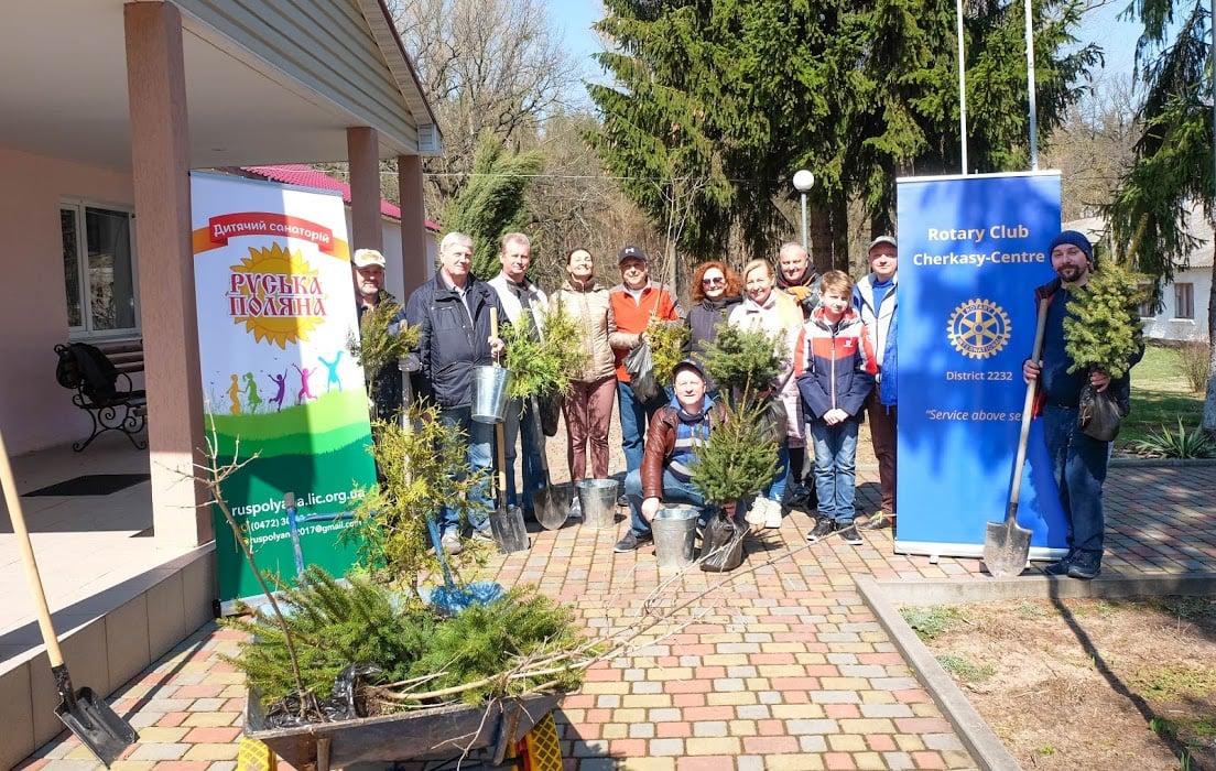 Черкаські ротарійці долучилися до екологічної акції