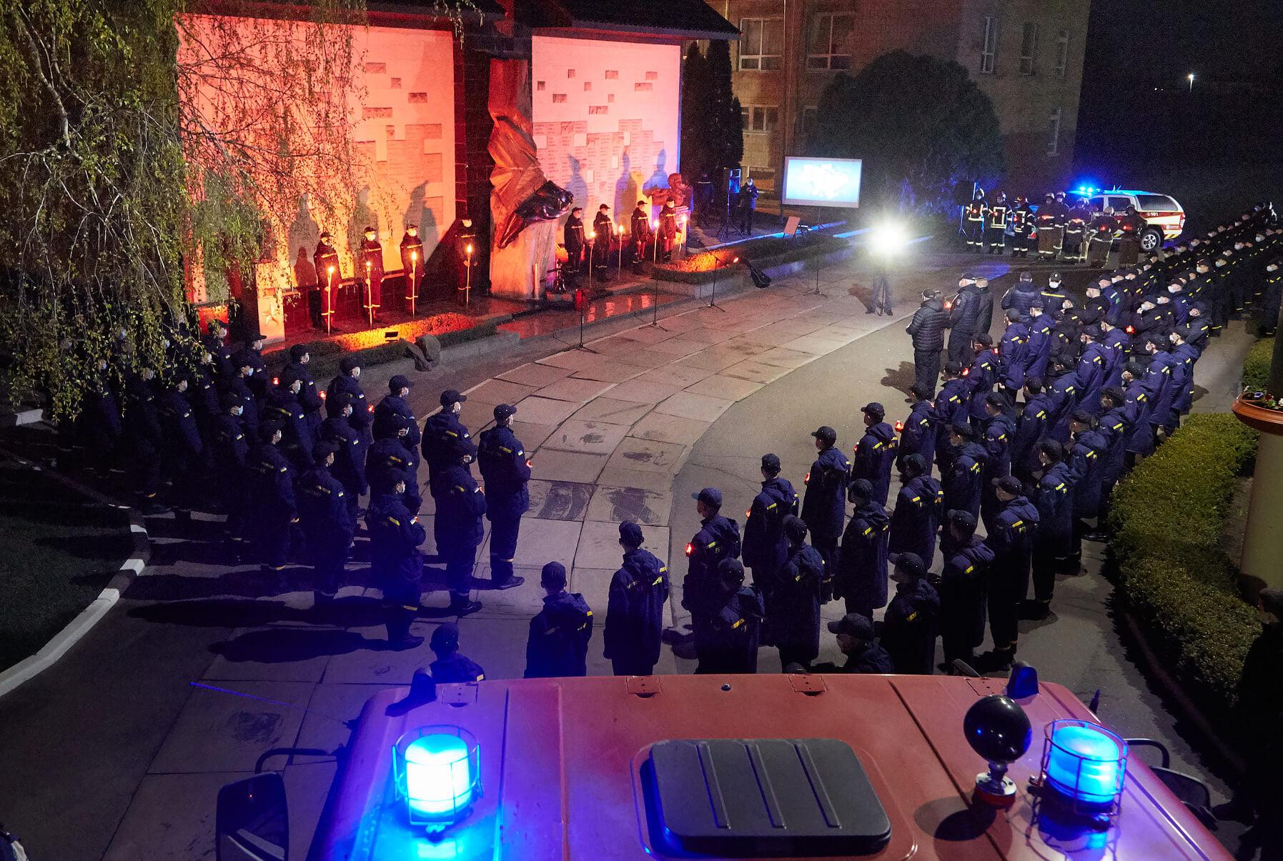 У ЧІПБ вшанували пам'ять Героїв-ліквідаторів аварії на ЧАЕС (ФОТО)
