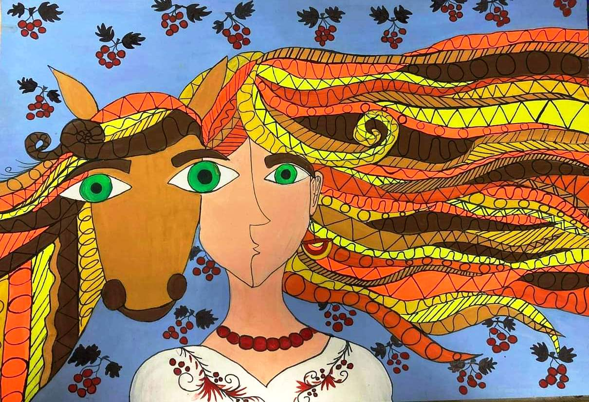 Юні черкащанки вибороли приз на Міжнародному конкурсі малюнків