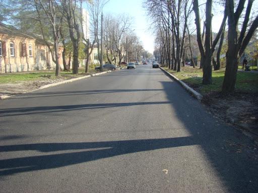 У Черкасах продовжують ремонт вулиць і реконструкцію об'єктів інфраструктури