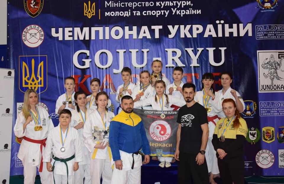 Черкаські спортсмени вибороли медалі чемпіонату України
