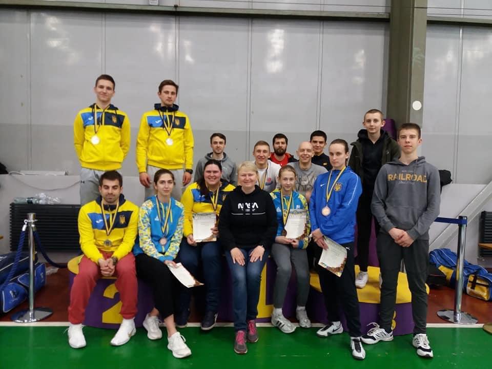 Черкаські фехтувальники здобули нагороди на чемпіонаті України