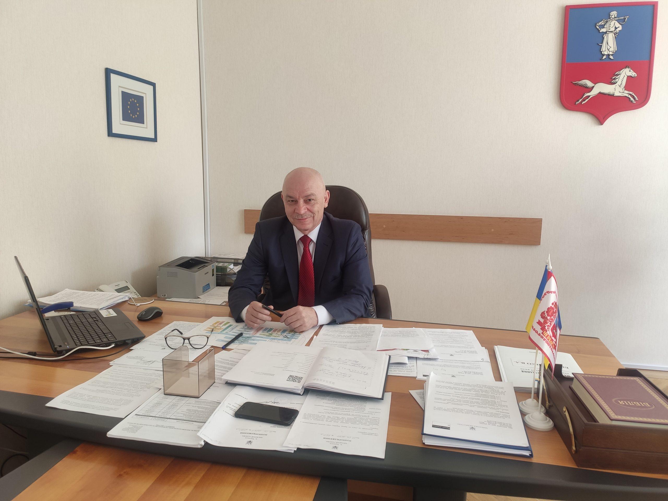 Віктор Беззубенко: «Дії ПрАТ «Азот» щодо будівництва газопроводу-відводу є законними»