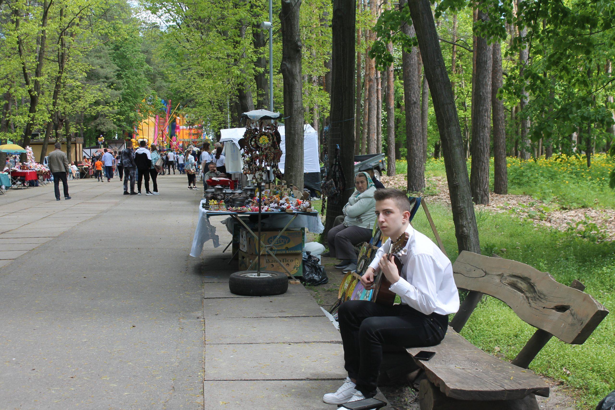Відкриття паркового сезону в Черкасах (ФОТО)
