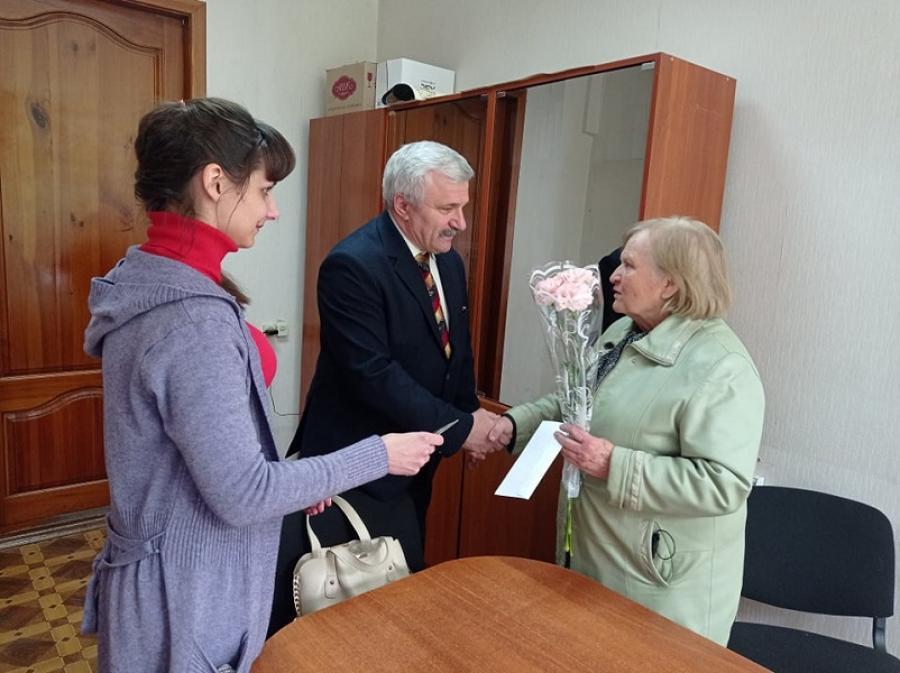 Профспілковий комітет ЧДТУ привітав ветеранів Другої світової війни