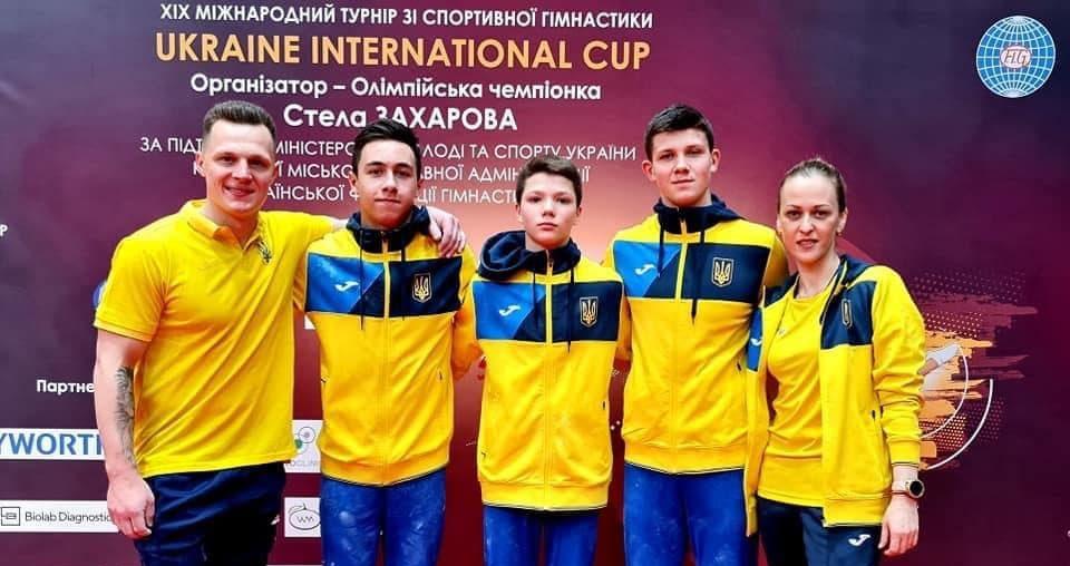 Черкаські гімнасти вибороли нагороди на міжнародному турнірі