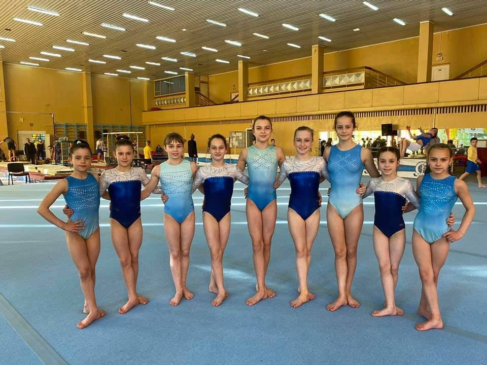 Гімнастки з Черкас стали чемпіонами України (ФОТО)