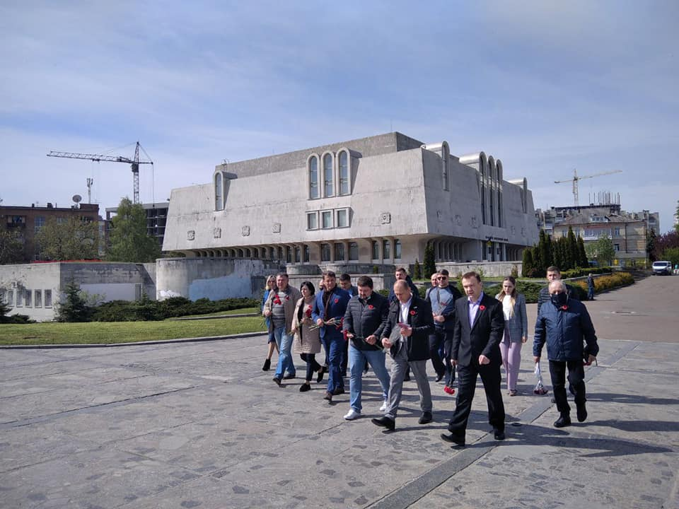 """Команда """"ЄС"""" ушанувала пам'ять загиблих у Другій світовій"""