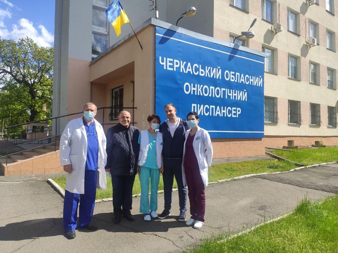 Онколог Олександр Лисиця проконсультував черкаських медиків з трансплантації кісткового мозку