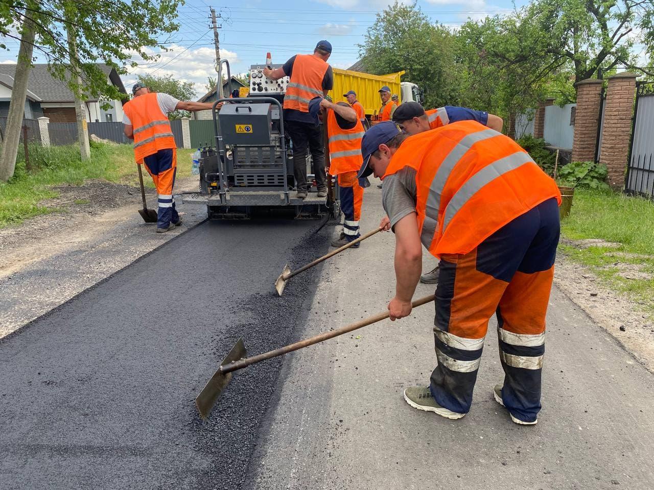 У Черкаському районі ремонтують 16 км дороги