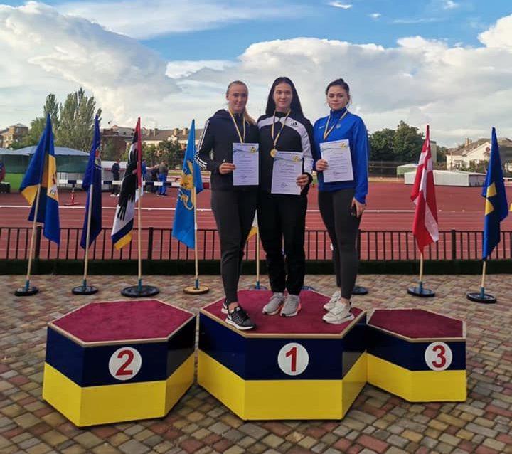 Легкоатлети з Черкас вибороли нагороди на чемпіонаті України