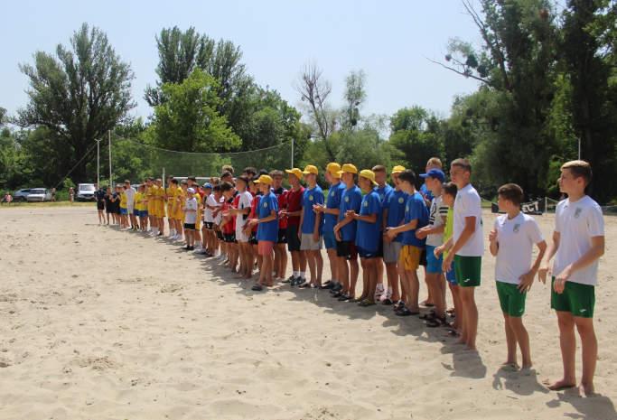 У Смілі триває чемпіонат України із пляжного футболу