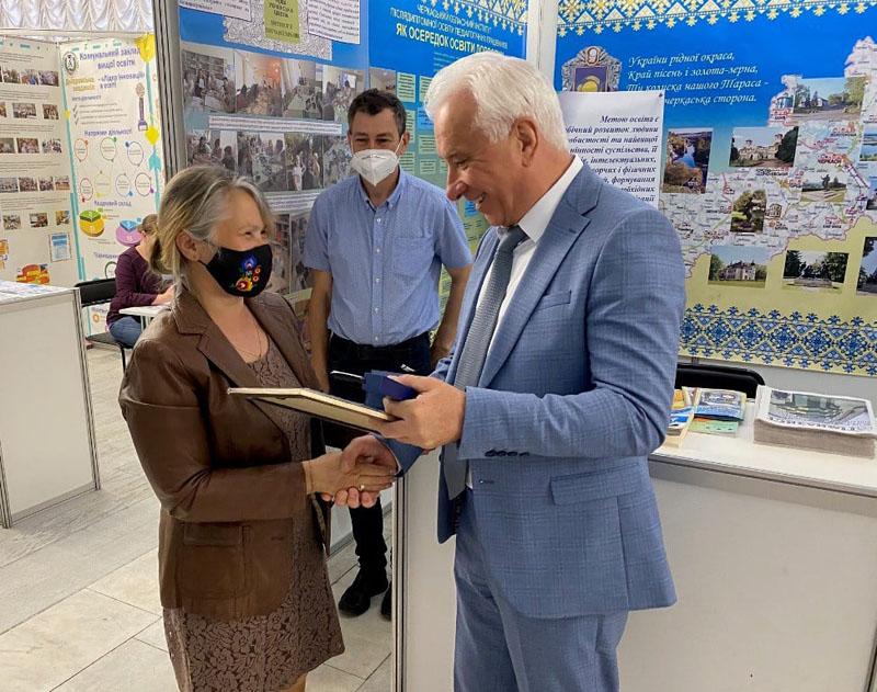 Черкаські заклади освіти здобули низку нагород на міжнародній виставці