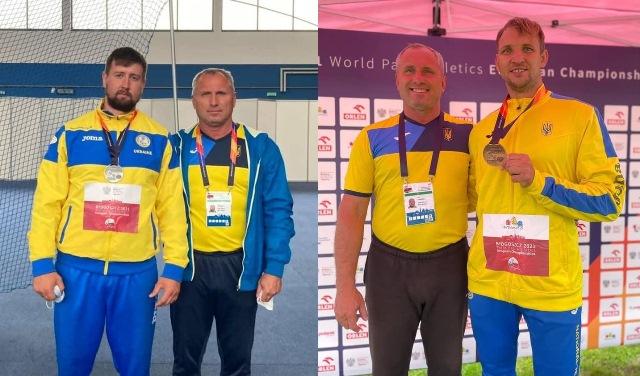 Черкаські паралімпійці посіли призові місця на Чемпіонаті Європи
