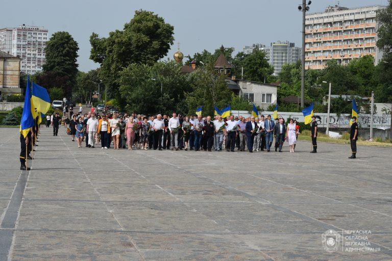 У Черкасах вшанували пам'ять жертв Другої світової війни