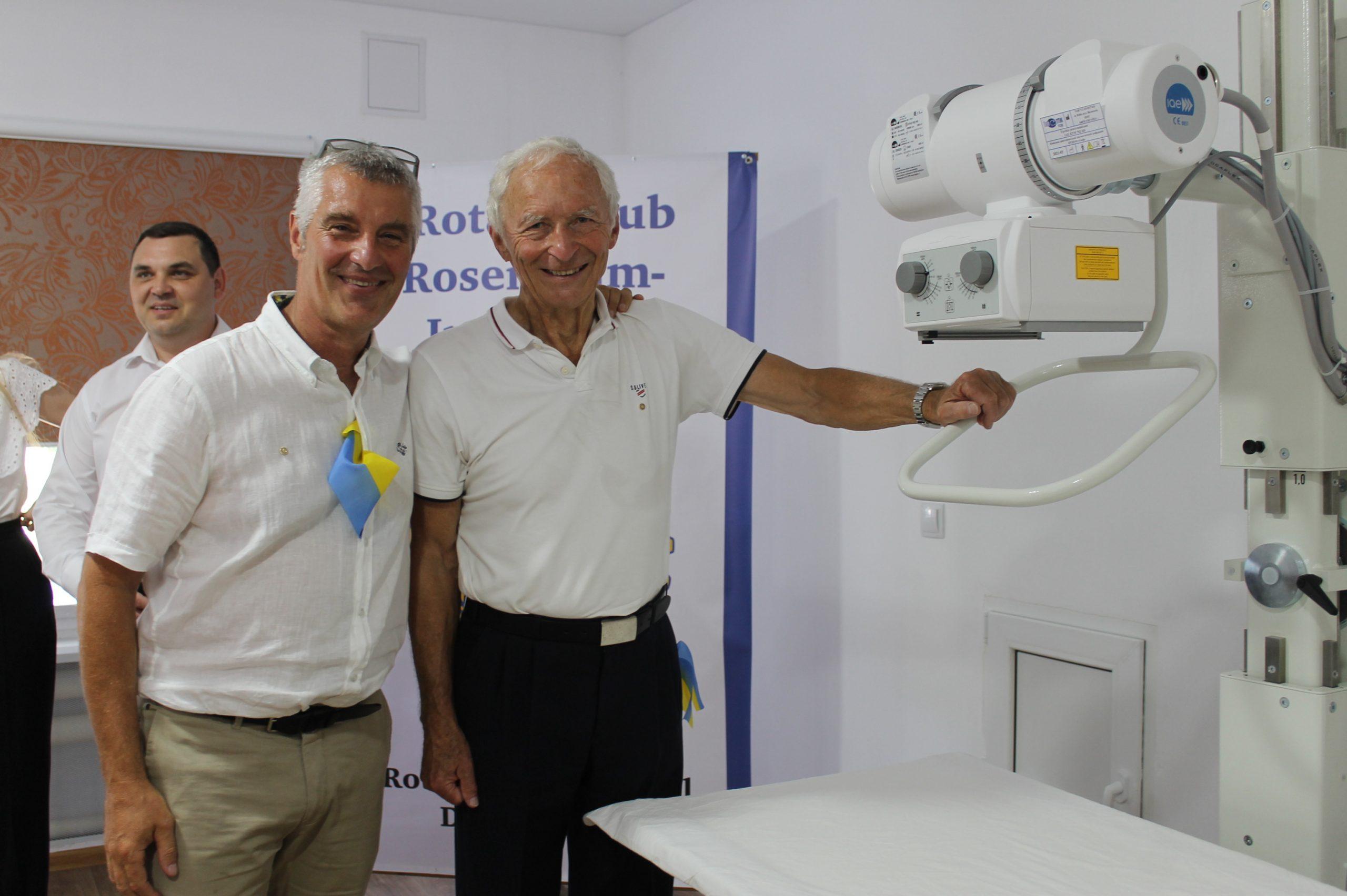 У протитуберкульозний санаторій ротарійці придбали цифровий рентгенапарат