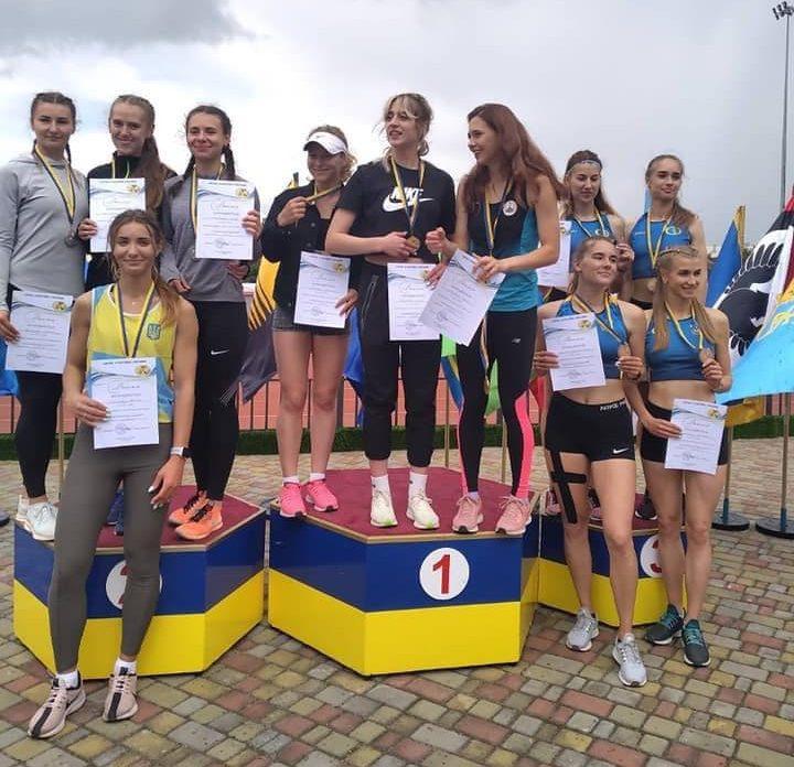 Черкаські легкоатлети здобули нагороди на чемпіонаті України