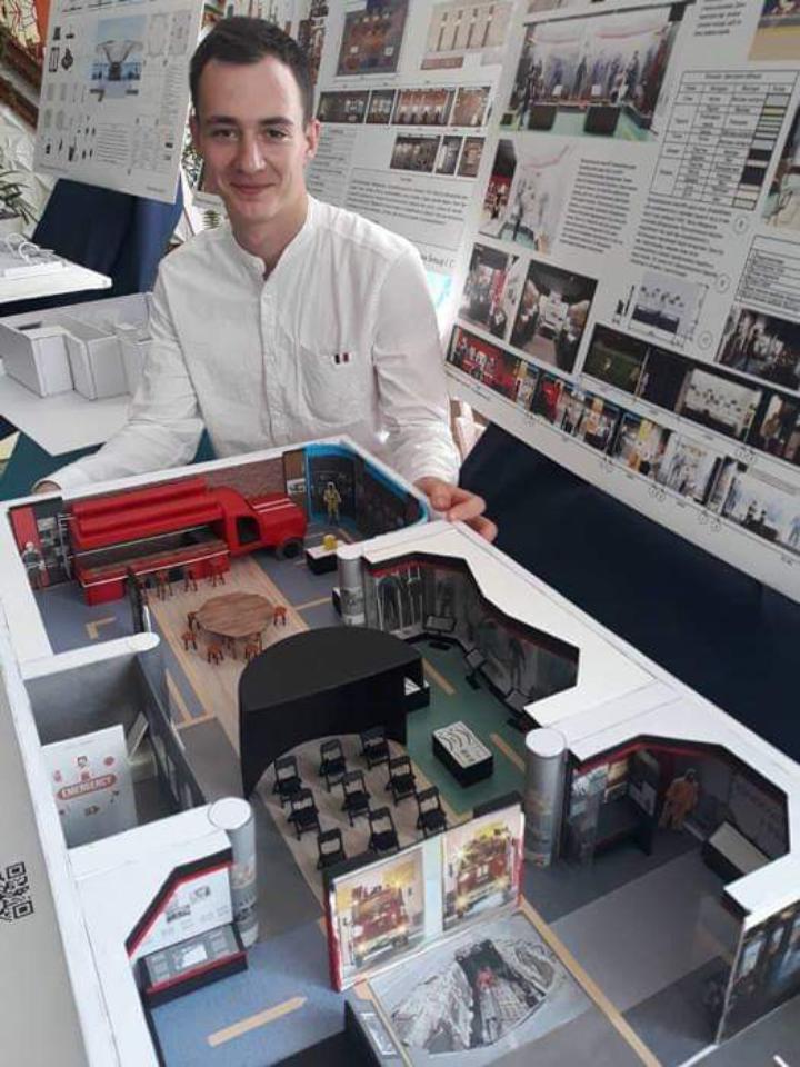 Черкаський студент створив проєкт музею ДСНС (ФОТО)