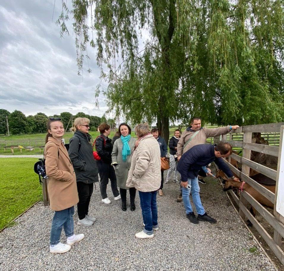 Майбутні черкаські підприємці відвідали господарство «Лісова Коза»
