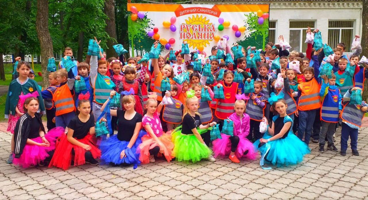 У санаторії «Руська Поляна» влаштували свято для дітей