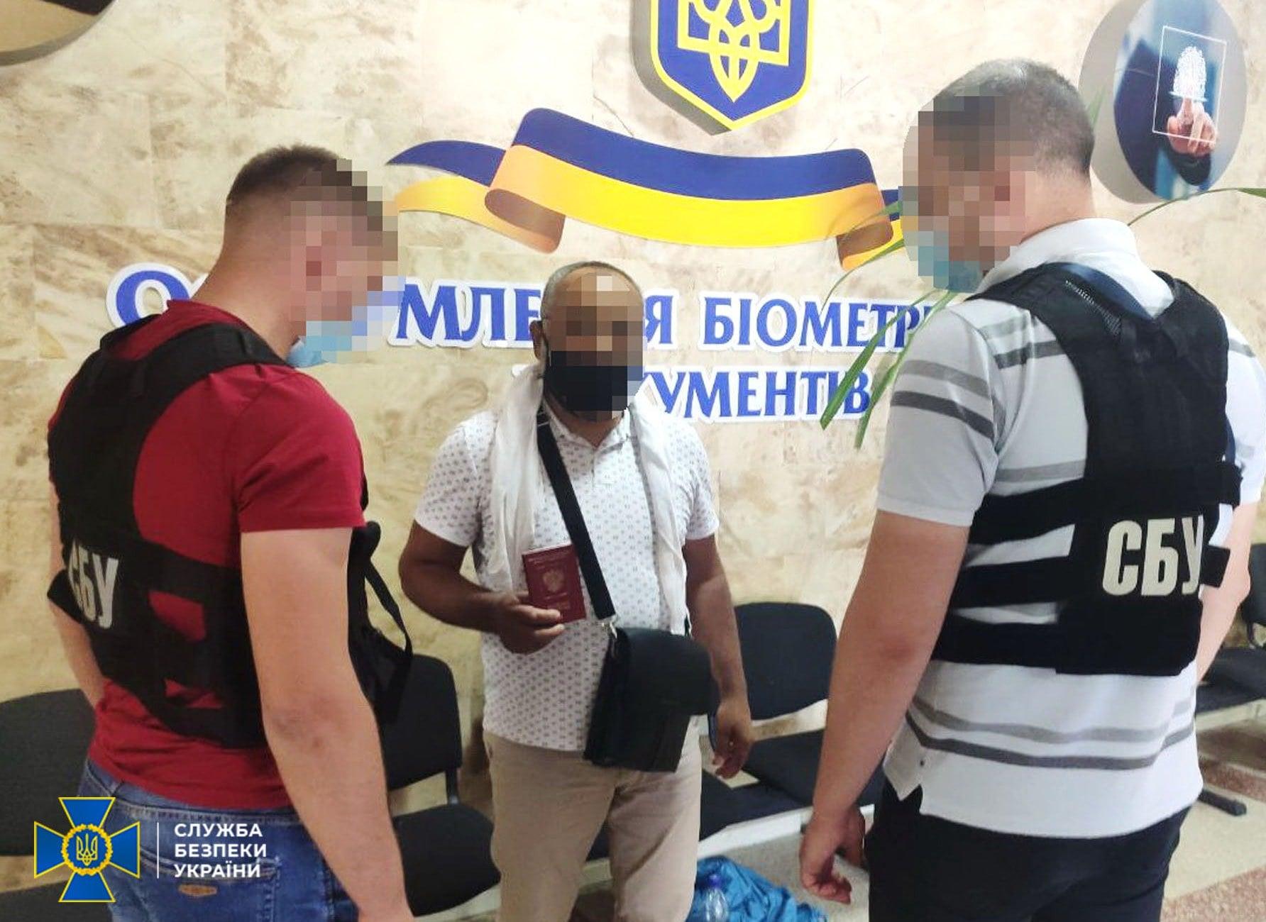 У Черкасах затримали іноземця, який скоїв терористичні злочини
