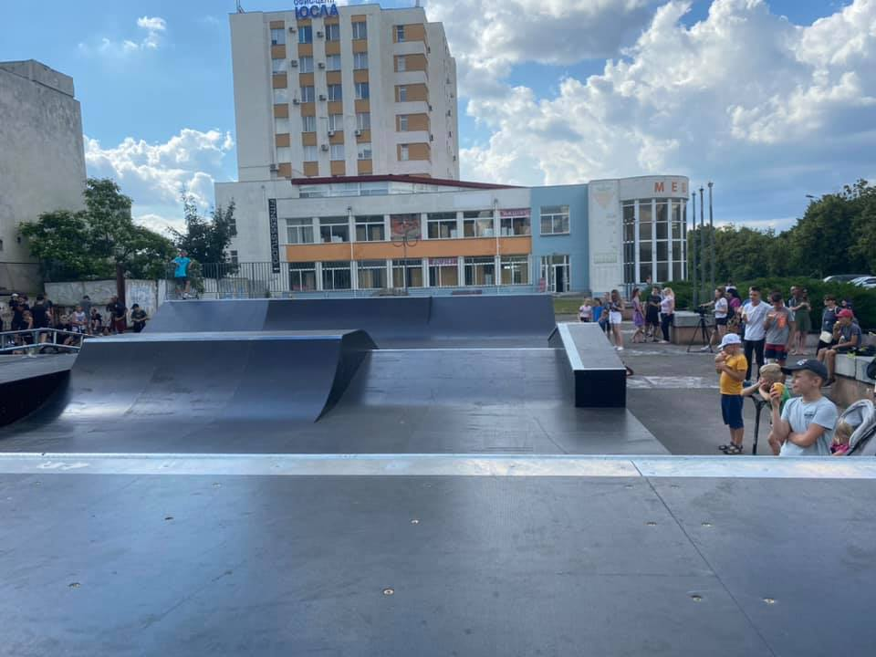 На модульний скейтпарк у Черкасах витратили 1,4 млн грн