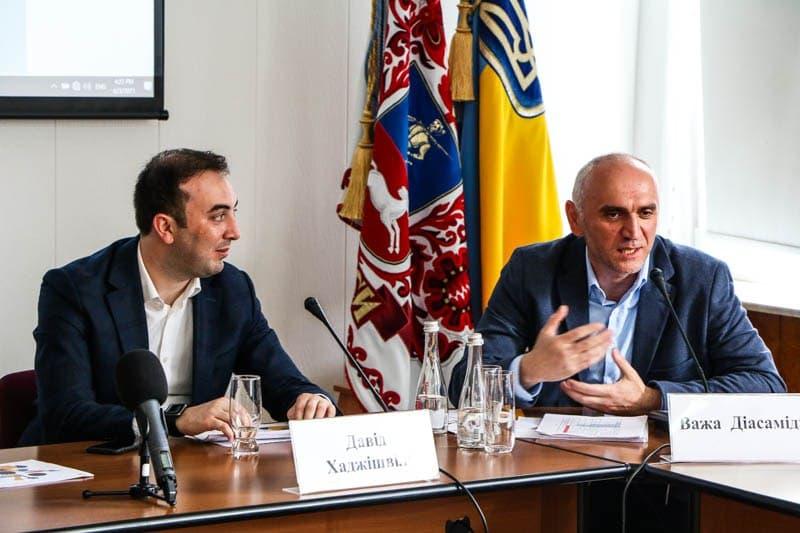 Грузинські партнери допомагатимуть у розбудові Черкащини