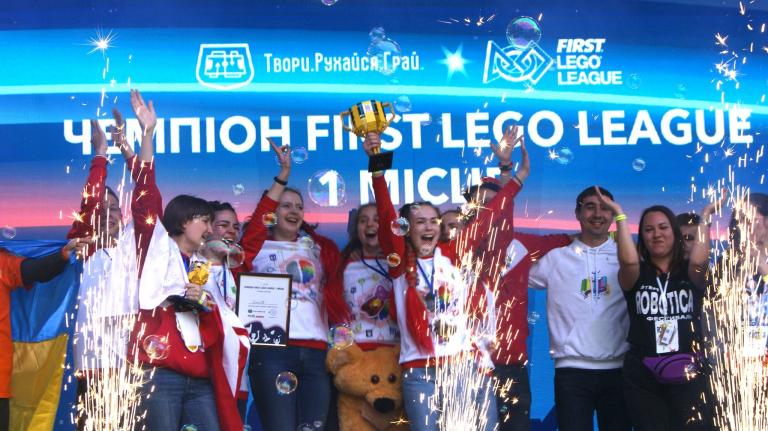 Команда робототехніків BrainsON здобула перемогу на Всеукраїнському фестивалі