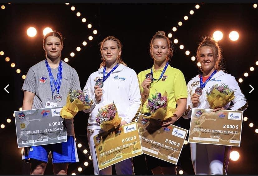 Черкаські спортсменки – призерки чемпіонату Європи