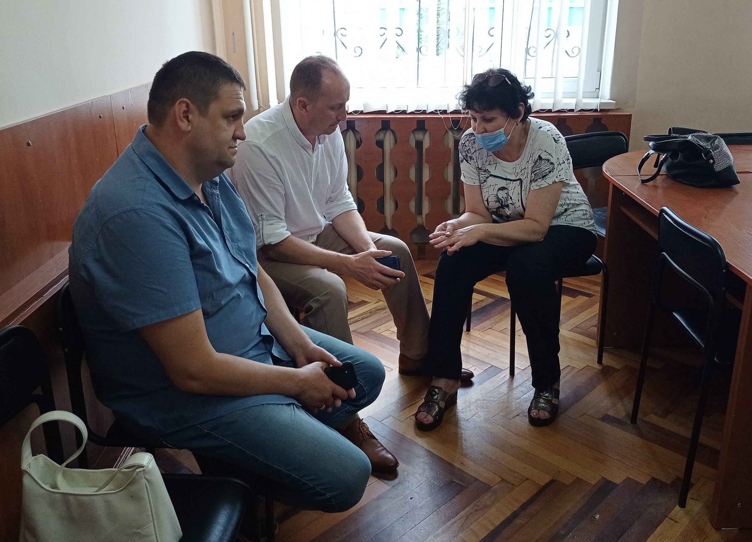 Делеганти з Рівного ознайомилася із діяльністю «Biopharma Plasma Cherkasy»