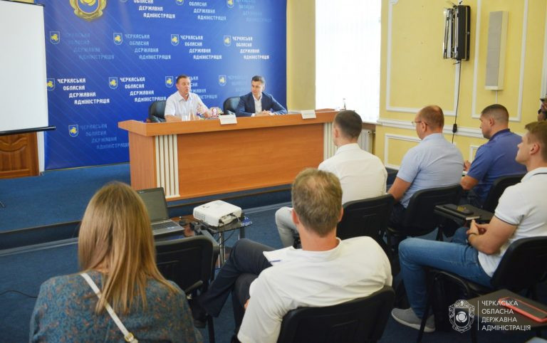 Голова ОДА зустрівся із представниками Української Ради Бізнесу
