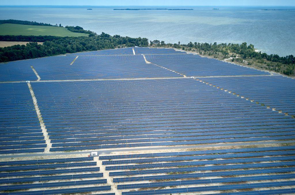 На Чигиринщині запустили сонячну електростанцію