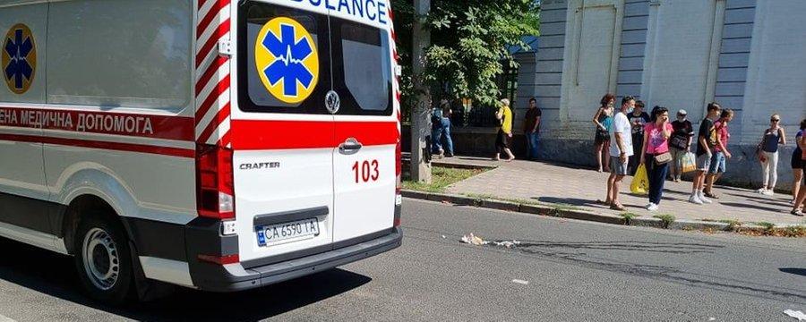 У Черкасах на бульварі Шевченка збили пенсіонерку