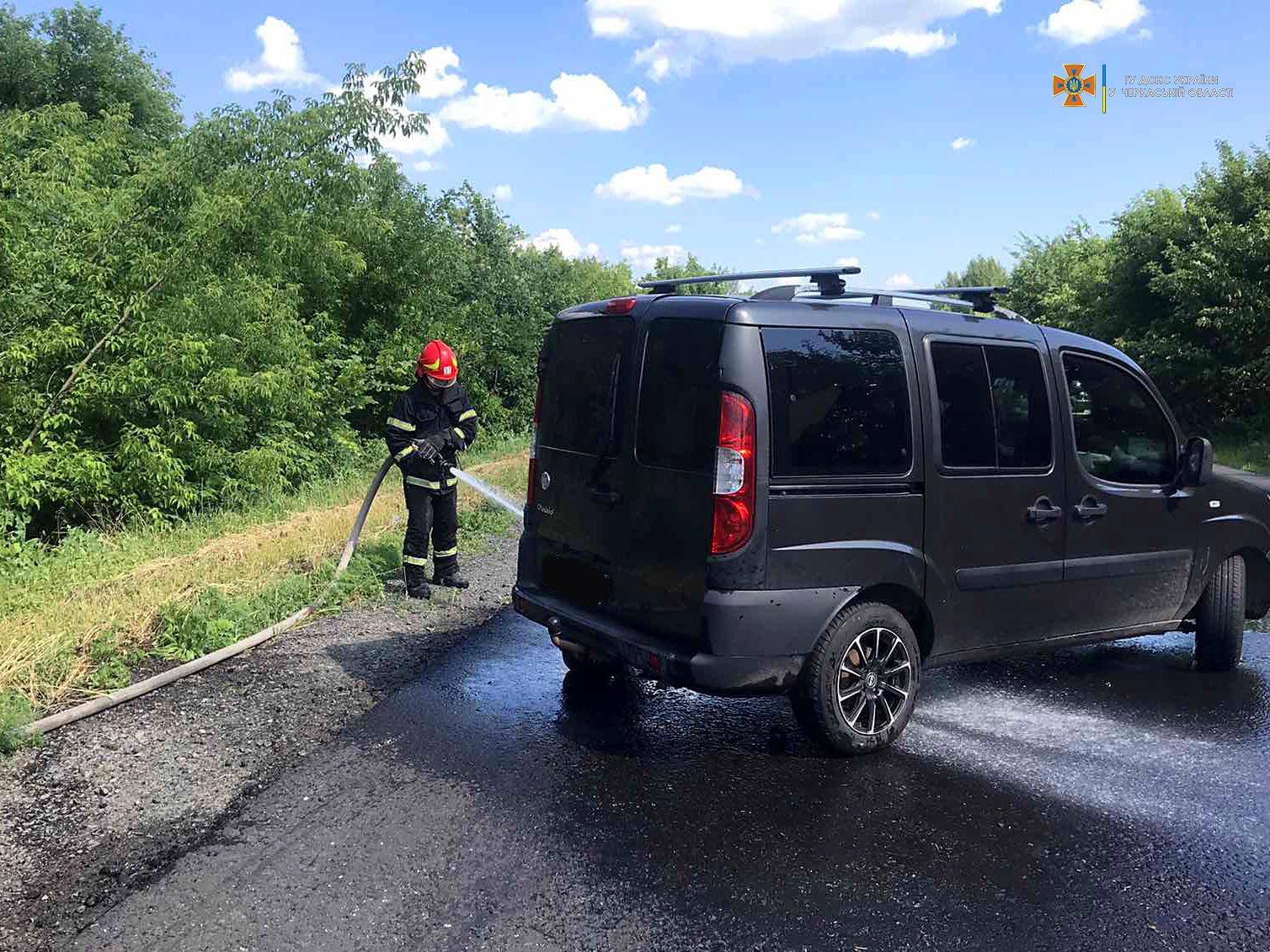 Два автомобілі зіткнулися поблизу Корсуня